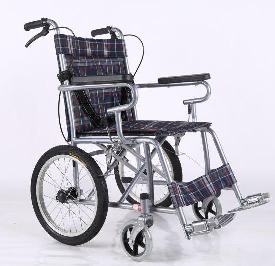 16喷涂钢管轮椅参数