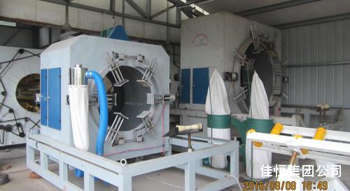 塑料管材全自动切割机--确保管口整齐