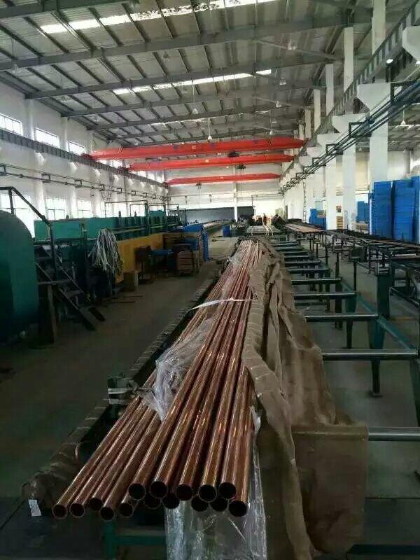 生产矿物质电缆的铜管