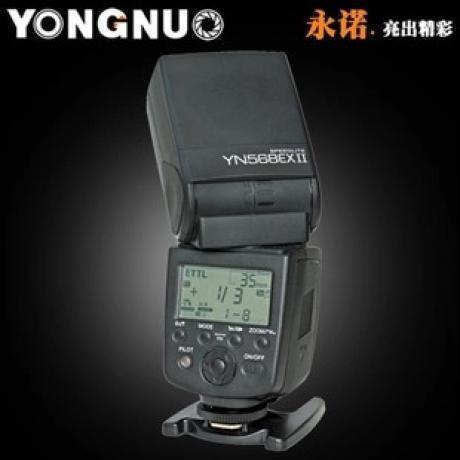 永诺 YN-568EX II 二代闪光灯佳能 高速同步TTL 大指数主控