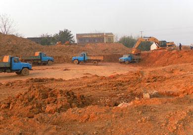 安庆怀宁新县城工业园三期内环北路工程