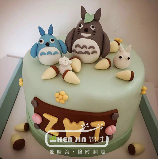 龙猫·萌系生日蛋糕