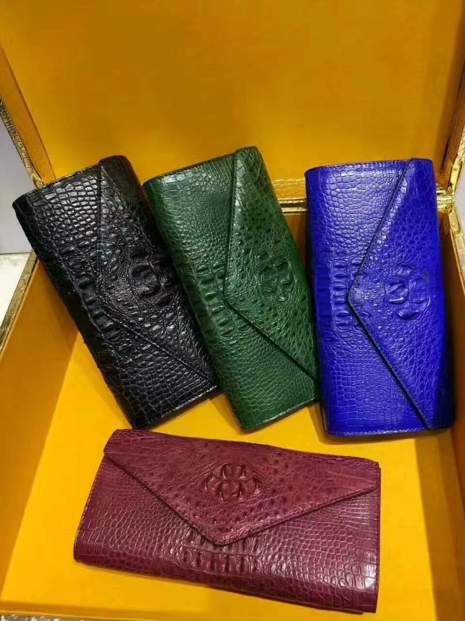 泰国暹罗鳄鱼皮横款晚礼包02261350TLD7
