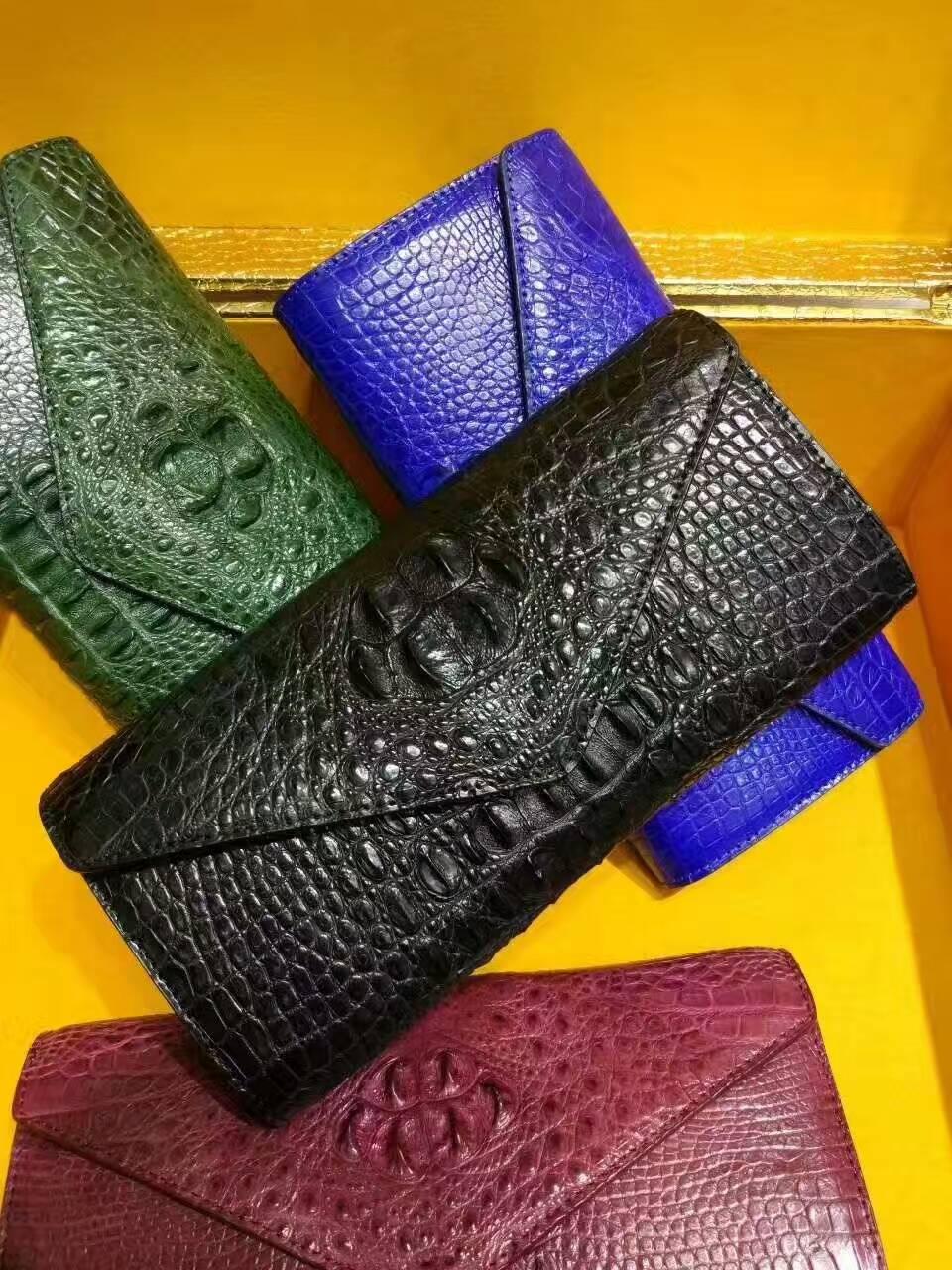 泰国暹罗鳄鱼皮横款晚礼包02261350TLD8