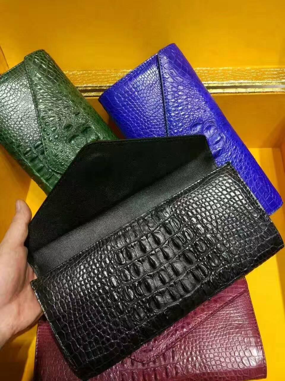 泰国暹罗鳄鱼皮横款晚礼包02261350TLD5