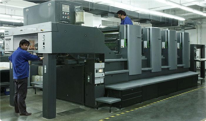 海德堡印刷机器