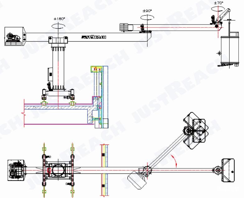 轨道车平台控制电路图