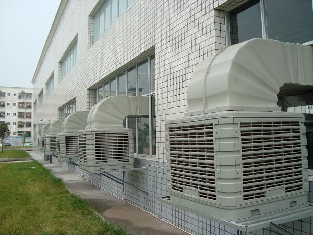 工业冷风机安装案例