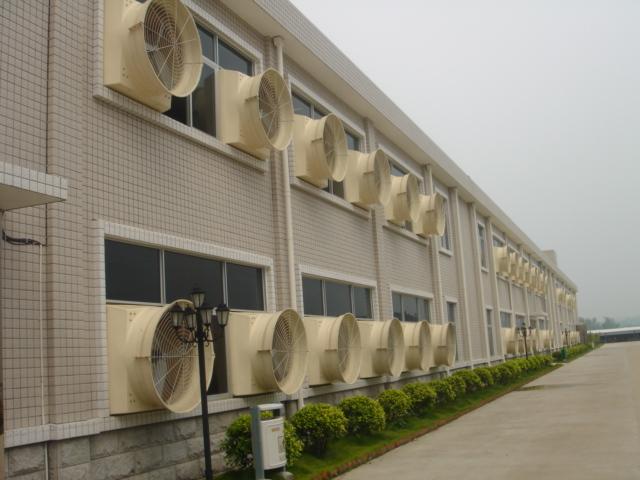 负压风机水帘墙安装案例