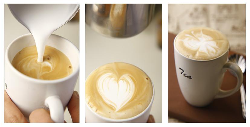 更简单的方法是将咖啡杯置于意式咖啡机热量放置区,萃取浓缩时杯子的