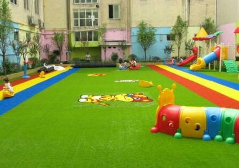 人造草坪-南宁幼儿园