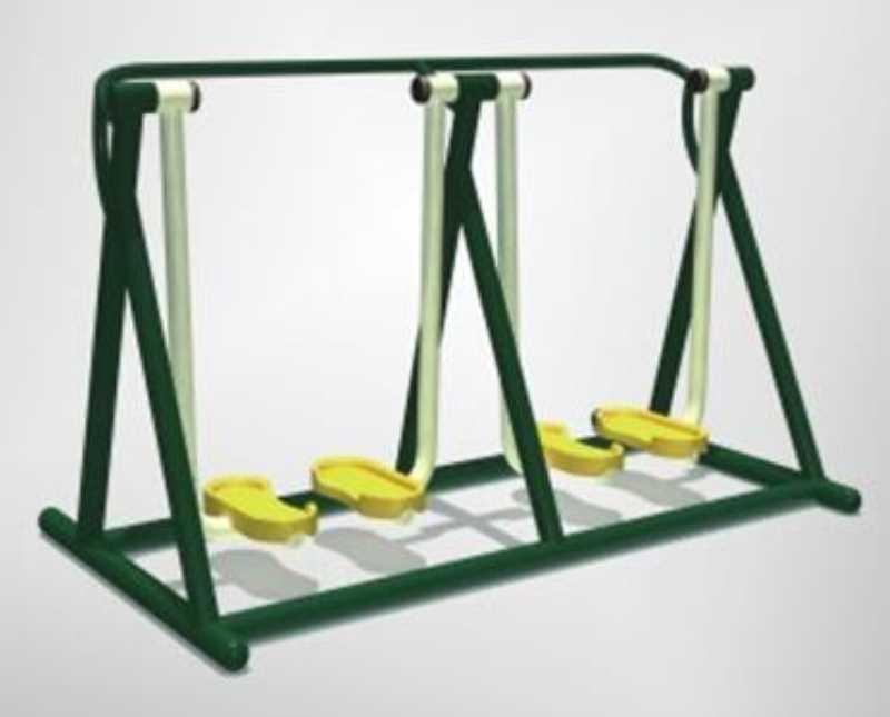 南宁户外健身器材路径-双人扭腰跑步机