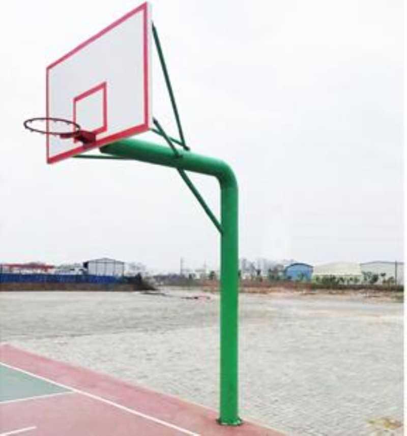 DFC9186 C型地埋圆管篮球架