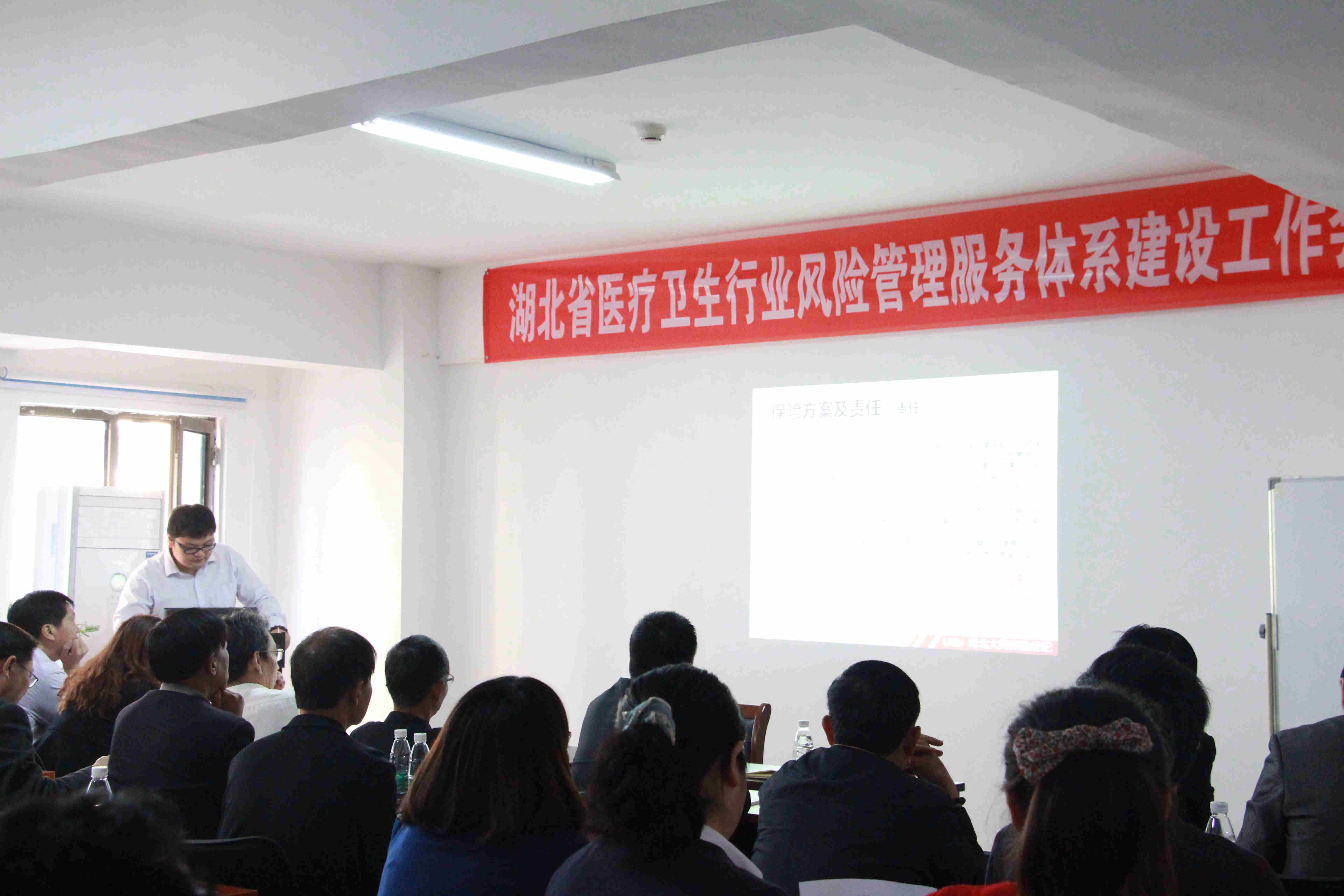 湖北省医疗卫生行业风险管理服务体系建设工作会