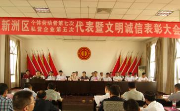 新洲区私营企业家峰会