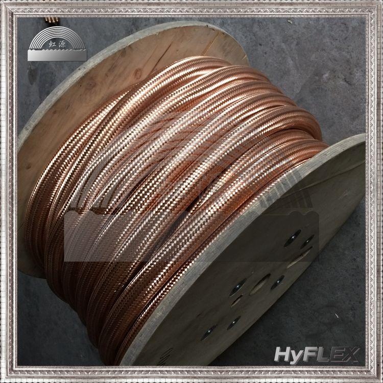 铜波纹管及铜编织网套