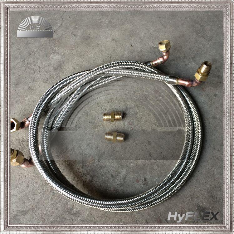 客户定制金属软管-铜纳子