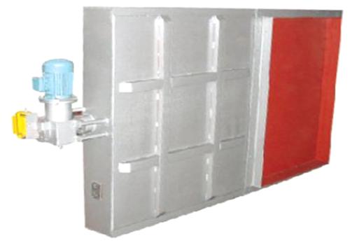 SCFM-D型电动双插板隔绝门