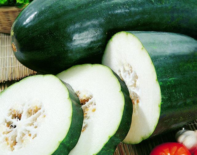 冬瓜-七种蔬菜让你自然美白内外兼修