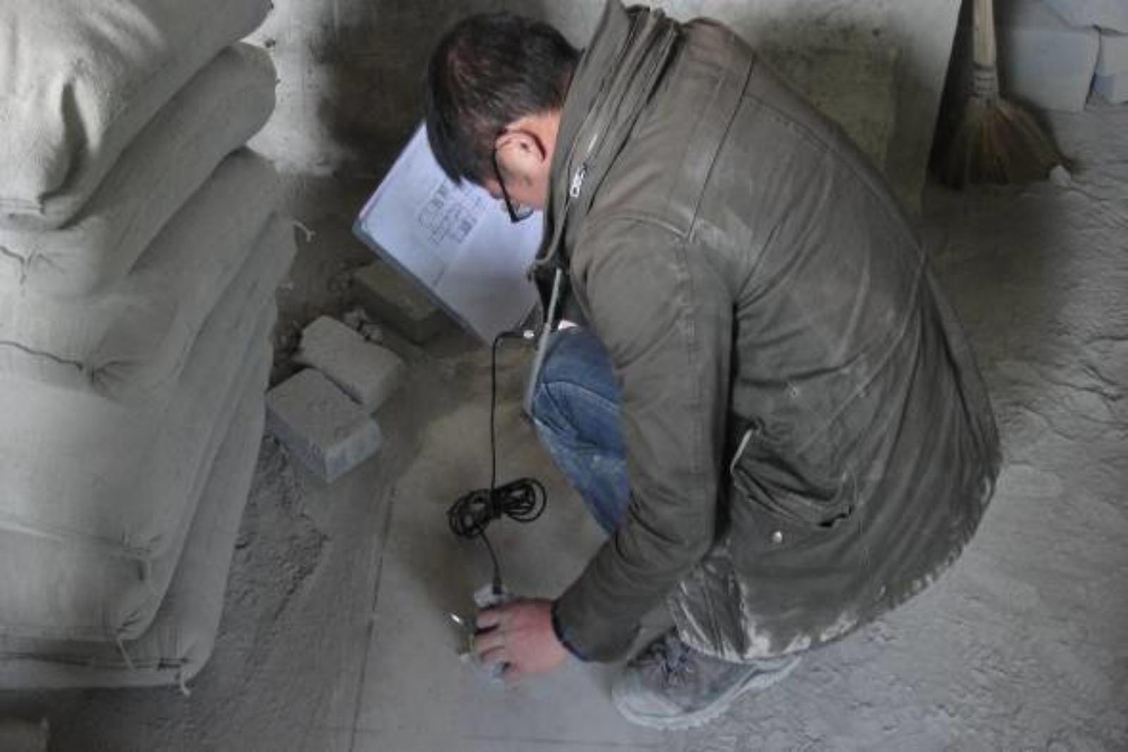 建筑主体结构 楼板静载荷现场检测