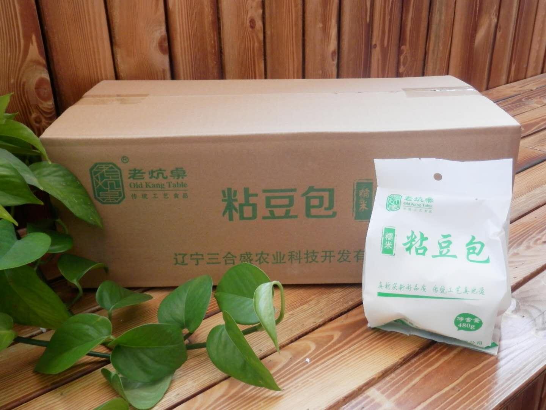 糯米粘豆包 480g*20袋/箱