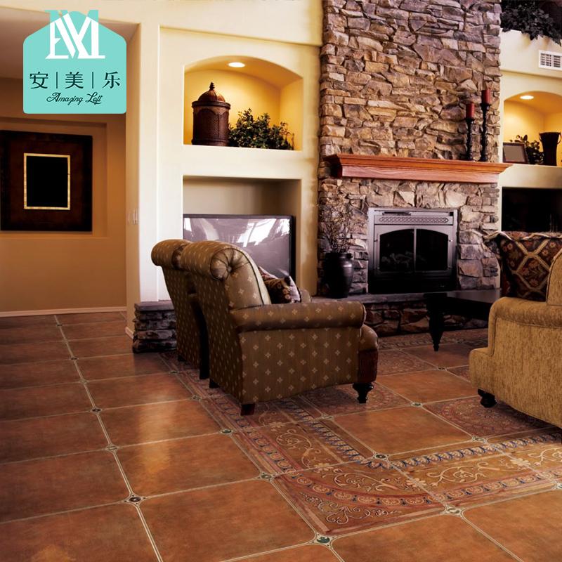 美式文化砖地中海欧式客厅地砖