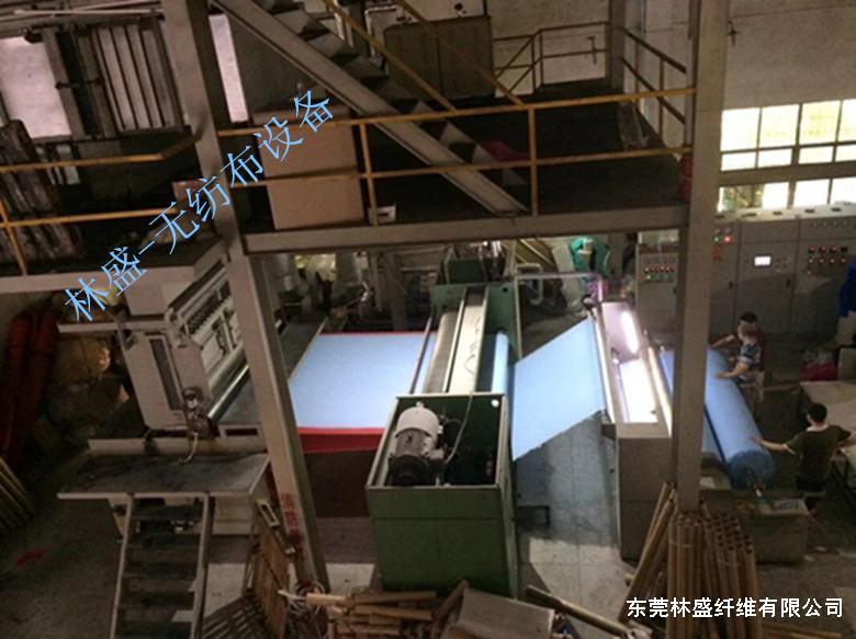 不织布(无纺布)生产设备、车间一览