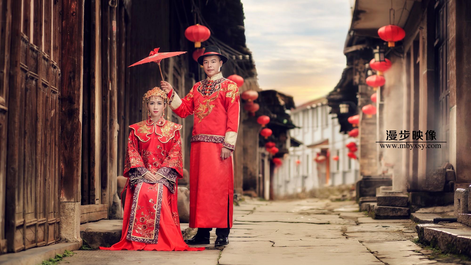 中国新娘——红装