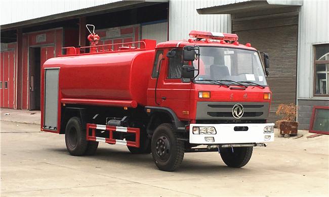 老款10吨东风153消防洒水车