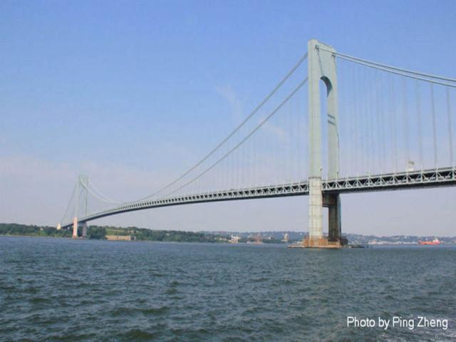 通往布鲁克林区的大桥