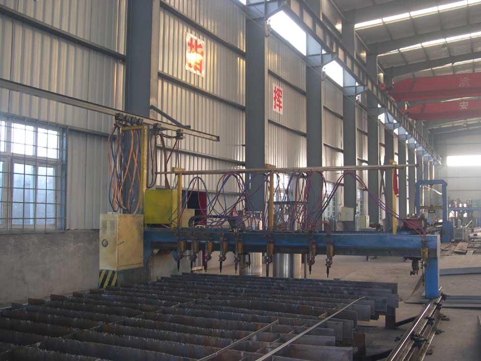 钢结构加工车间数控机