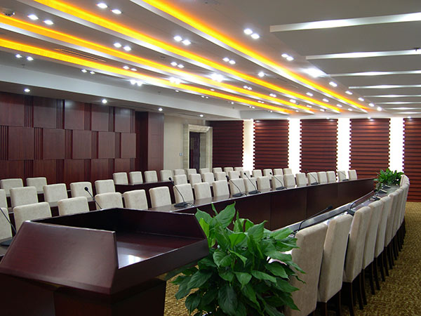 寧陽縣文成園建設主體裝飾裝修工程會議室