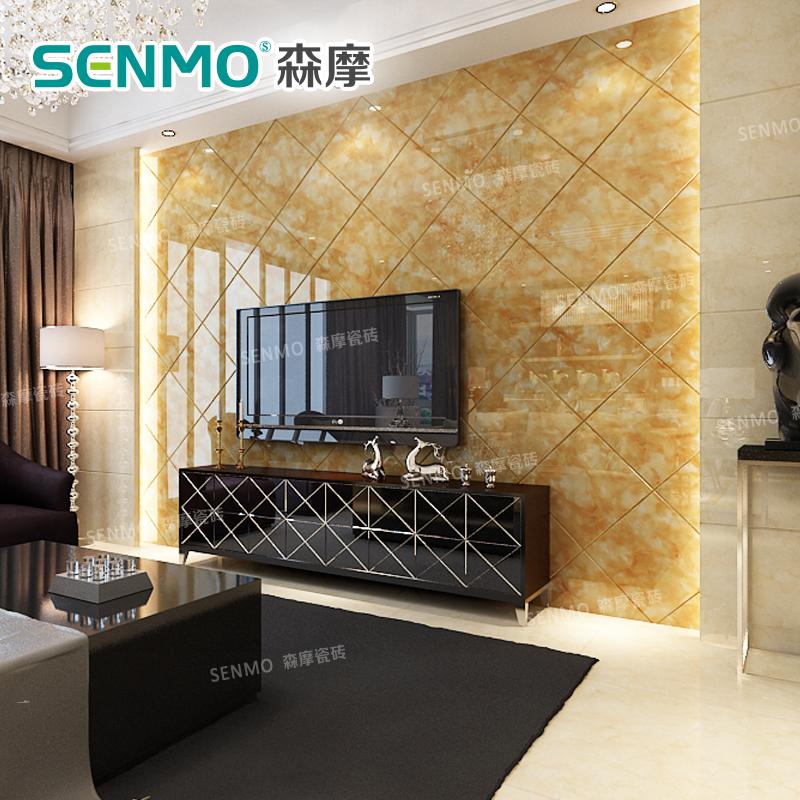 微晶石电视背景墙800地砖现代简约欧式客厅卧室