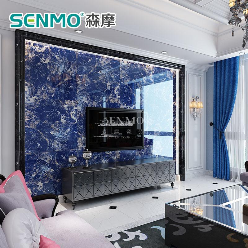 瓷砖背景墙微晶石电视机背景墙瓷砖地砖欧式