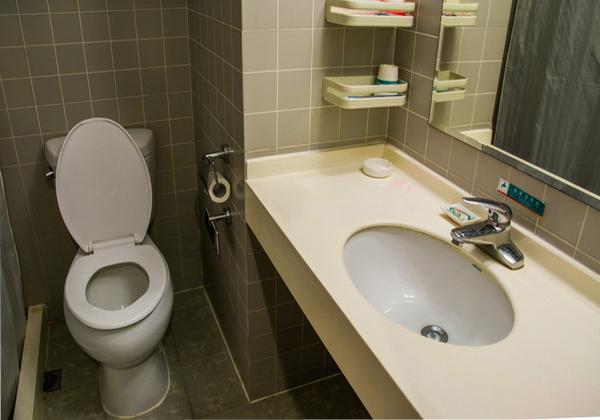 酒店洗手台