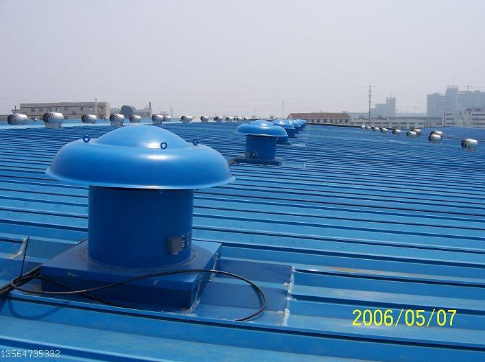 屋顶动力风机,2。2KW,73KG,25000立方米/小时,玻璃钢屋顶轴流风机,防腐屋顶风机,排烟风机