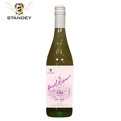 澳利莱A308霞多丽干白葡萄酒