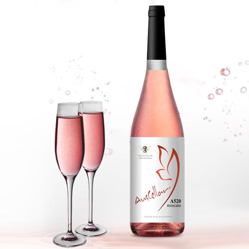 澳利莱A520桃红蜂蜜葡萄酒
