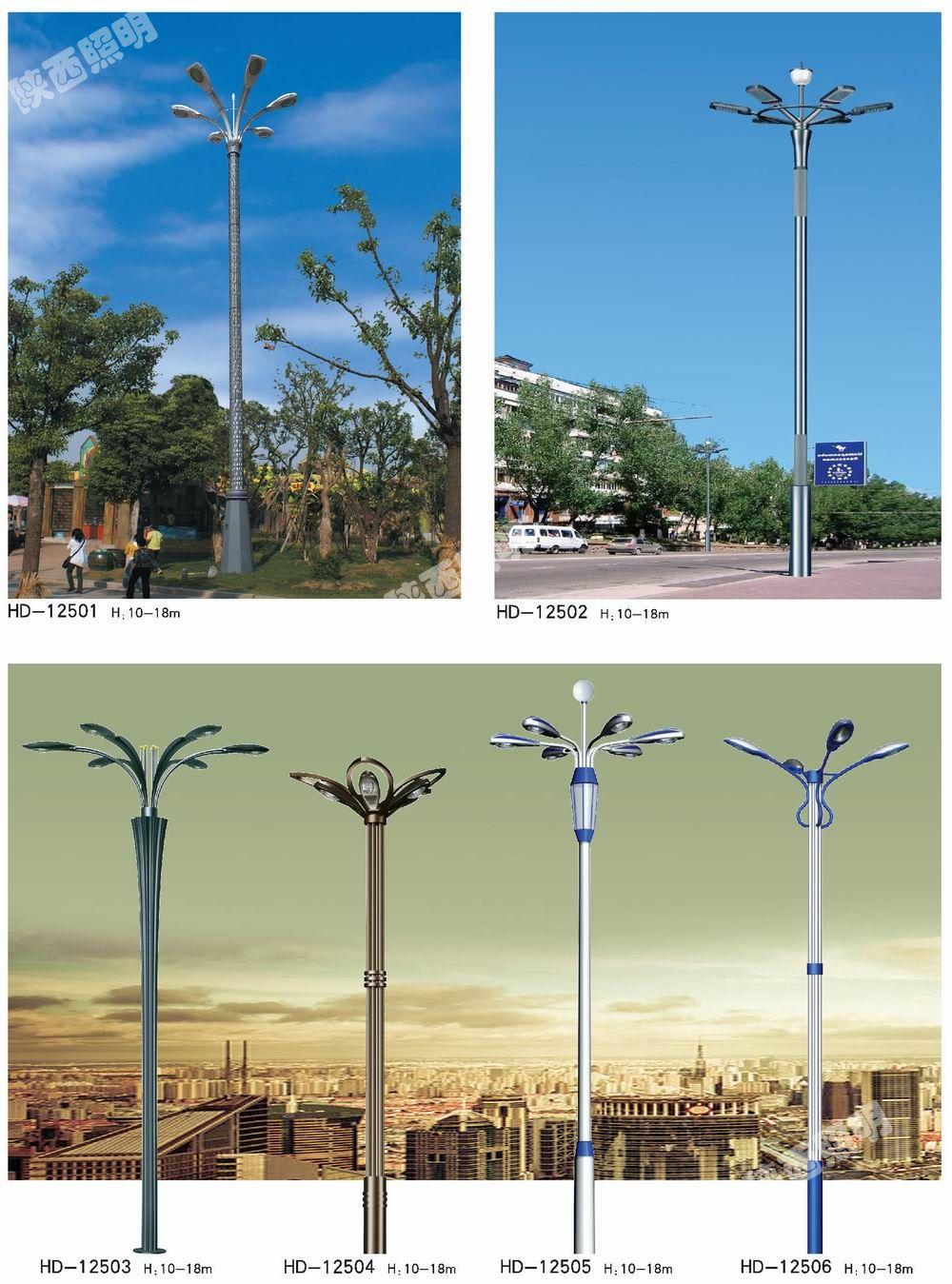 6米 8米 10米 12米 14米9头12头仿古中华灯GL028