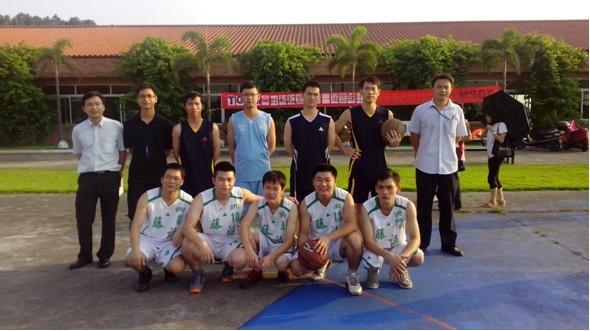 记美高梅国际官网首届3人口篮球赛(根本场)
