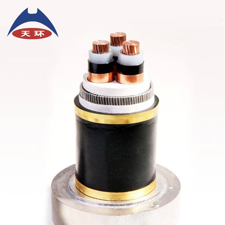 国标三芯YJV铜高压电缆