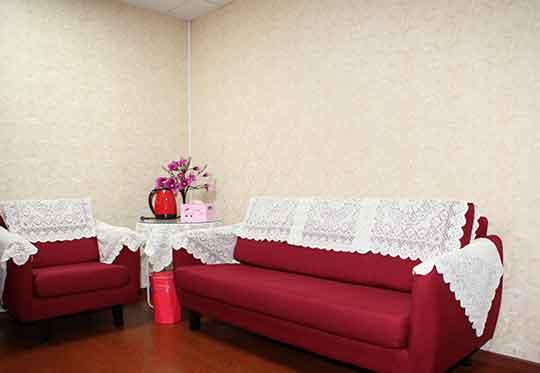 温暖舒适的咨询室