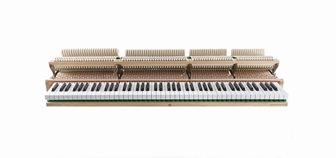 钢琴击弦机