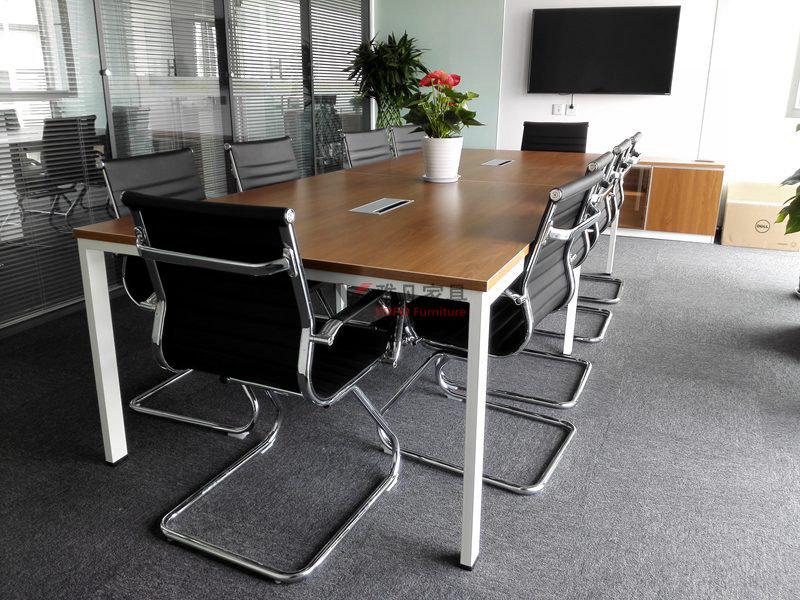 鋼木架會議桌
