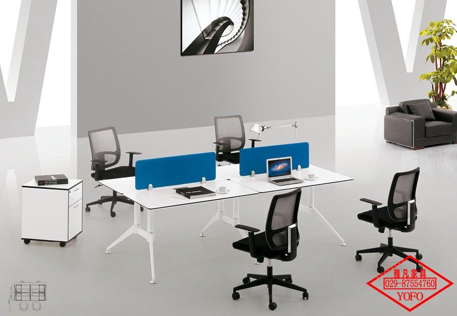 西安钢架办公桌
