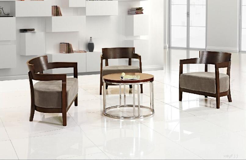 亚博体育苹果APP休闲桌椅定制 时尚实木弯板休闲洽谈桌会客桌椅