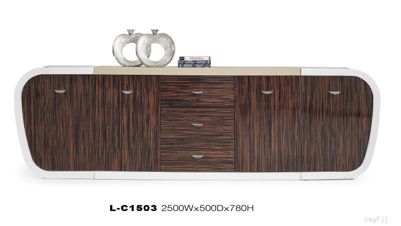 木制烤漆矮柜
