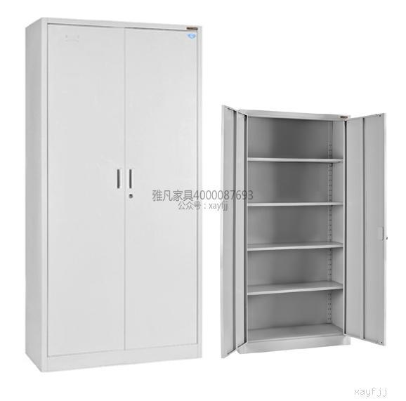 亚博体育苹果APP铁皮文件柜 钢制两门文件柜档案柜器械柜