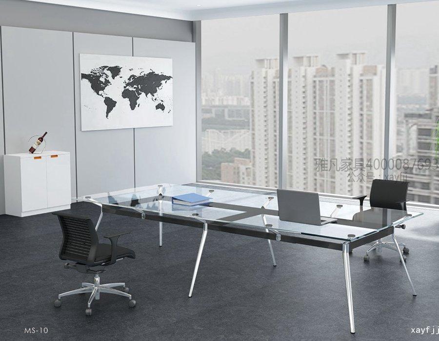 鋼化玻璃會議臺