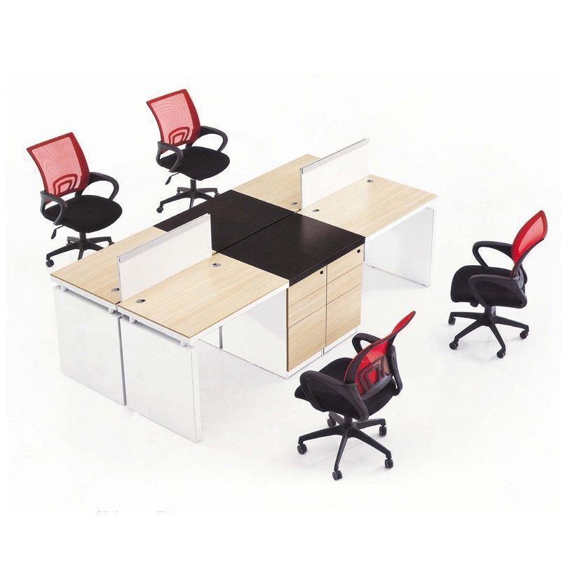 四人位組合辦公桌